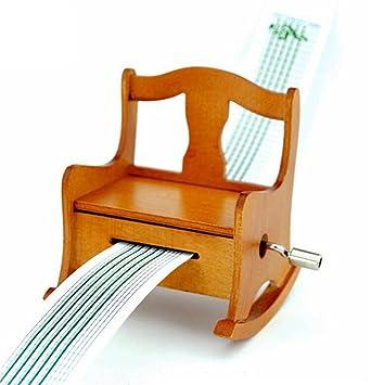 Amazon Com Biscount Antique Vintage Wooden Chair Music Box
