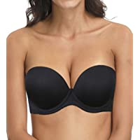 Strapless Convertible Pushup Bra Heavily Padded Lift Up Supportive Add Two Cup Multiway Tshirt Bras