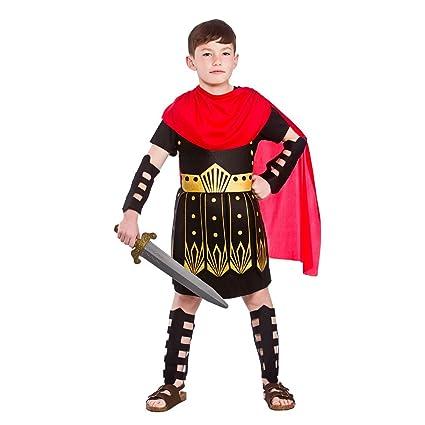 Disfraz de centurión romano para niño, 8 a 10 años, talla L ...