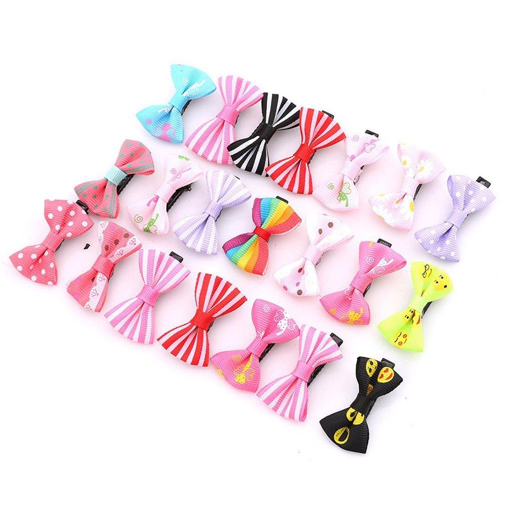 20pcs Kids Baby Girls Children Toddler Flowers Hair Clip Bow Accessories Hairpin