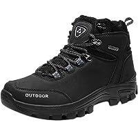 Zapatillas de Trekking para Hombre Botas de Senderismo Impermeables Botas de Montaña Antideslizantes AL Aire Libre…