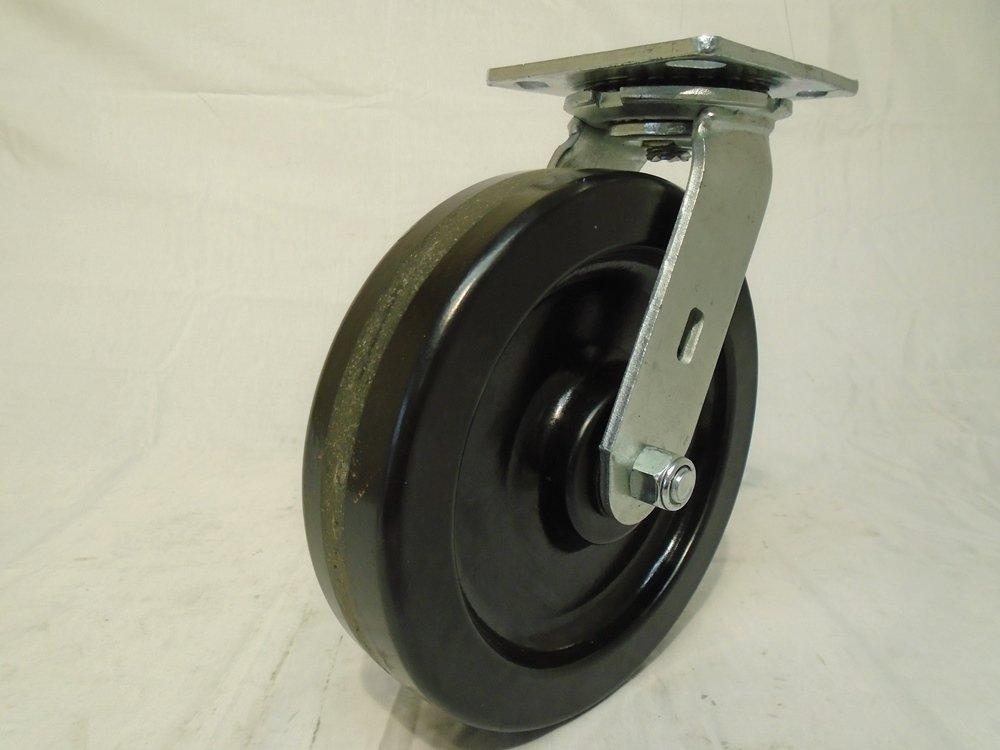 8'' X 2'' Swivel Caster Heavy Duty with Phenolic Wheel 1400 Lbs Each Tool Box
