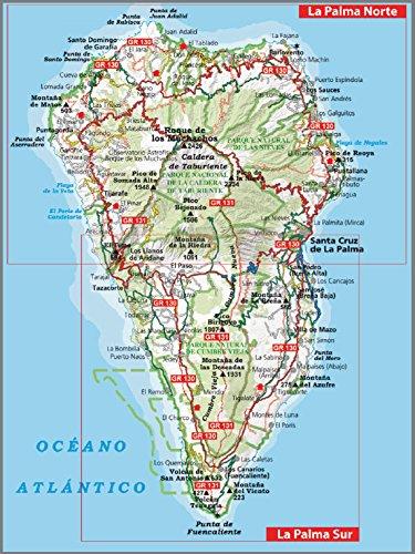 La Palma. Caldera de Taburiente. 2 mapas. Ruta de los volcanes. GR 130 y GR 131. Alpina.: Caldera de Taburiente. Ruta de los Volcanos GR 130 - GR 131: Amazon.es: Alpina, Editorial Alpina: Libros