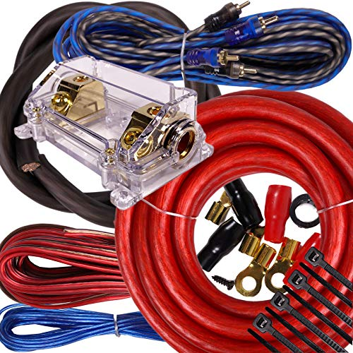 0 gage wire amp kit - 7