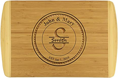 gift cutting board chopping board wood custom butcher block cutting board large cheese board unique kitchen board custom cutting board