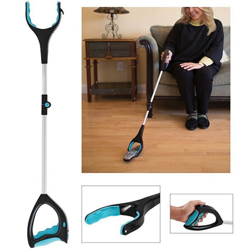 Extra Long Handled Extension Grabber Tool, Picker Up Tool and Reaching Claw, Trash Pickup Aid, Garden