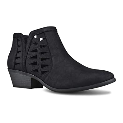 Women's Closed Toe Multi Strap Ankle Bootie