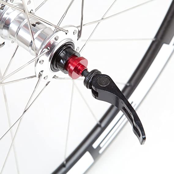 20mm hub to QR 5mm axle fork CNC converter//adapter front MTB bike//bicycle wheels