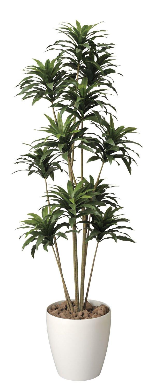 造花アート観葉植物 ドラセナコンパクタ1.6< 誕生日祝い 結婚祝い 結婚記念日 出産祝いに > B01M5FIXA0