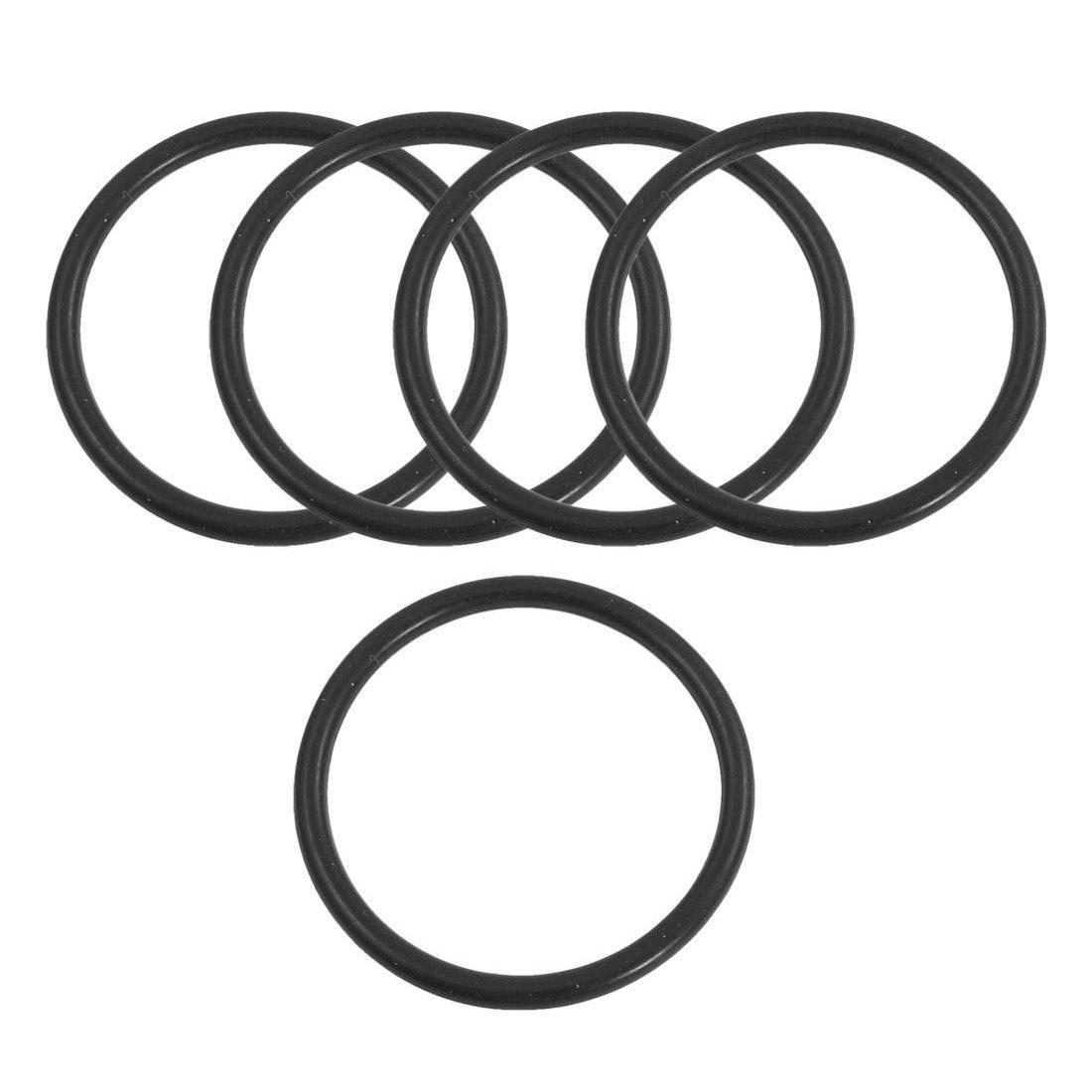 TOOGOO Nitrilkautschuk Dichtungen 160 mm x 5 mm Industrie Flexible Gummi-O-Ring-Dichtung Waschmaschine R