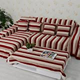 European style sofa cover sofa Skid padded fabric sofa a full towel B 180x280cm(71x110inch)