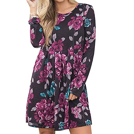 c829ac9dba30 TOTOD Women Summer Off Shoulder Floral Short Fashion Mini Dress Ladies  Beach Party Summer Dresses (