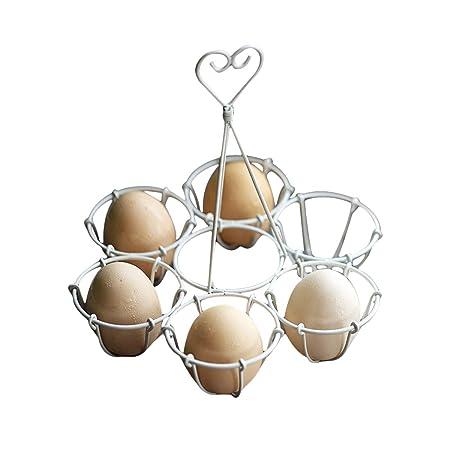 TentHome - Cesta para Huevos de Estilo Vintage, Soporte para ...