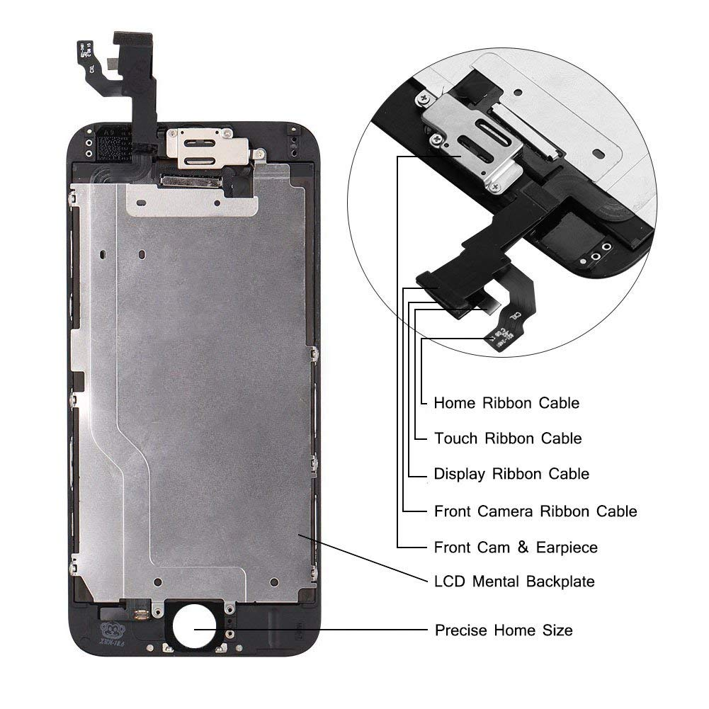 Compatible with iPhone 6 4.7inch Touch Display Digitizer with ...