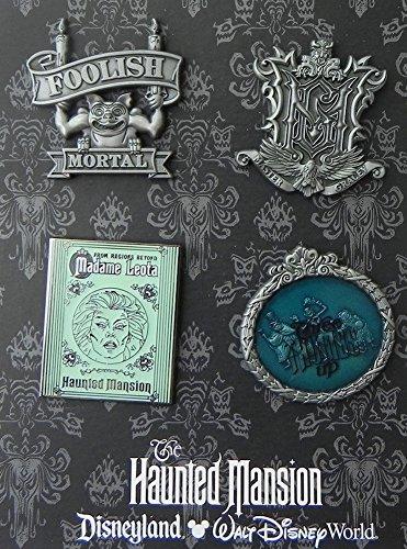 Disney Pin Haunted Mansion Booster Set 103159 Disneyland Haunted Mansion