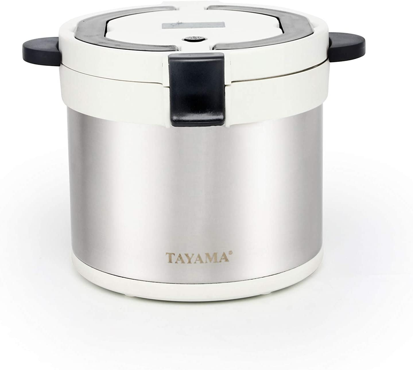 Tayama therma TXM-70XL Energy-Saving Thermal Cooker 7-Qt, White