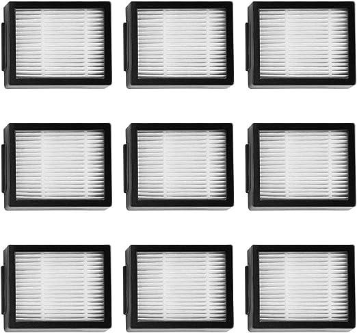 MIRTUX Kit de filtros para Roomba E5 / i7. Pack de repuestos de ...
