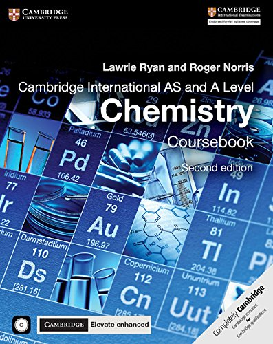 Cambridge International AS and A Level Chemistry Coursebook with CD-ROM and Cambridge Elevate Enhanced Edition (2 Years) by Cambridge University Press