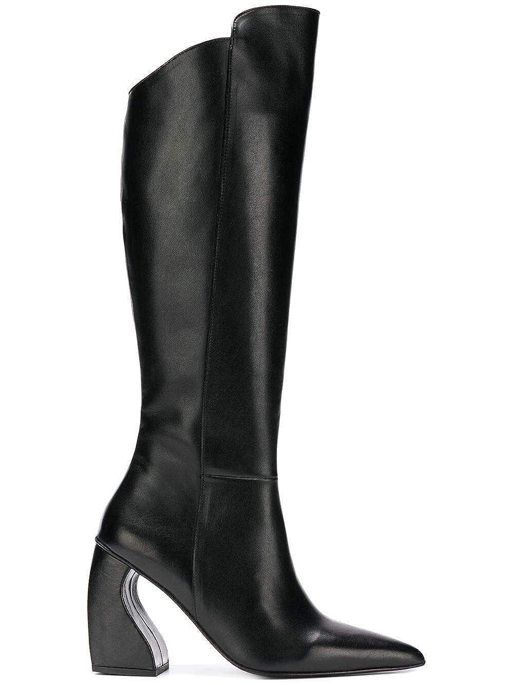 - MARQUES'ALMEIDA Women's AW18AC0079LTHBLACK Black Leather Boots