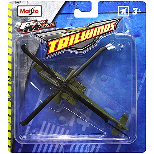 Tail Winds AH-64 Apache Helicopter Diecast Aircraft Replica ()
