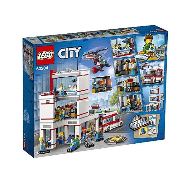 Lego City Ospedale,, 60204 3 spesavip