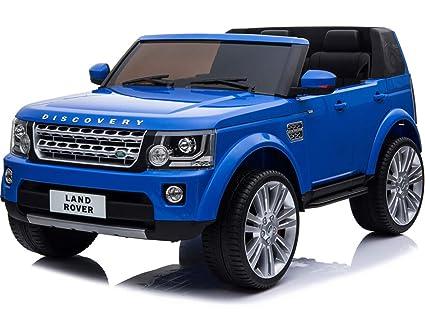Amazon.com: Mini Moto Land Rover Discovery 12V Blue (2.4Ghz ...