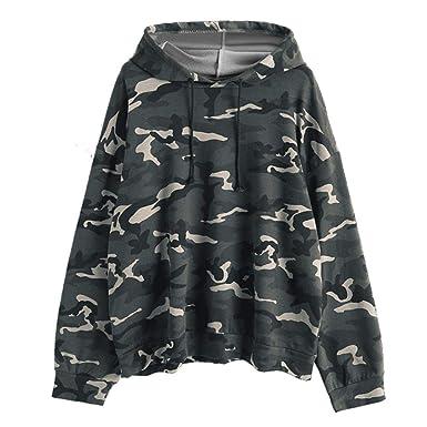 Mujer Sudaderas, ASHOP Blouses For Woman Elegant Crewneck Sweatshirt-American Classics Sudaderas de Fitness Top Deporte: Amazon.es: Ropa y accesorios