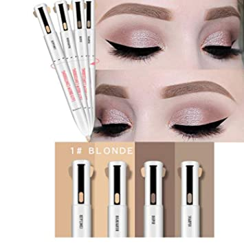 4 in 1 Easy to Wear Eyebrow Contour Pen Defining & Highlighting Brow, Eyebrow Outline