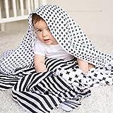 Muslin Baby Swaddle Blankets, 47x47