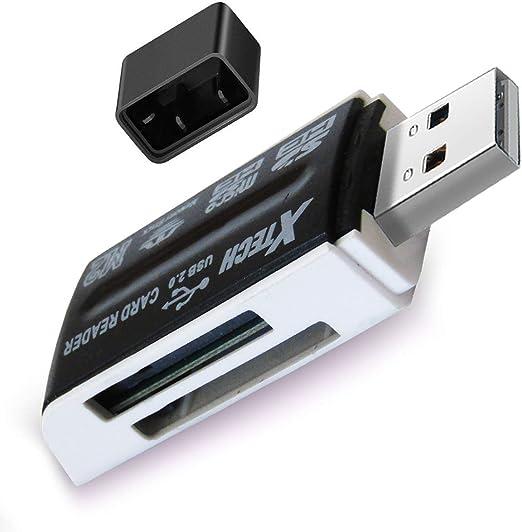 Amazon.com: XTECH 8-in-1 Universal de alta velocidad Lector ...