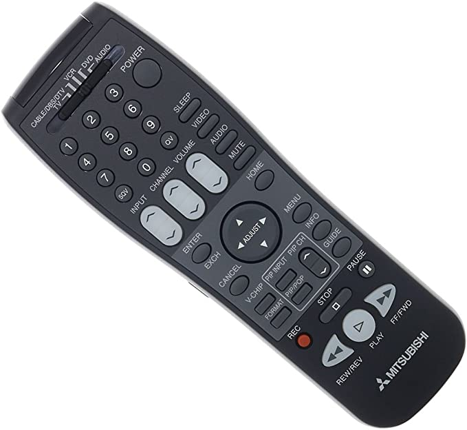 New OEM Mitsubishi TV Remote For WD73732 WD73733 WD73734 WD73735 WD73736 WD73737