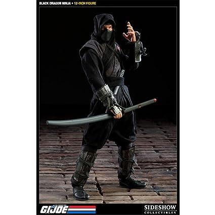 Amazon.com: GI Joe Cobra Negro Dragón Ninja 12
