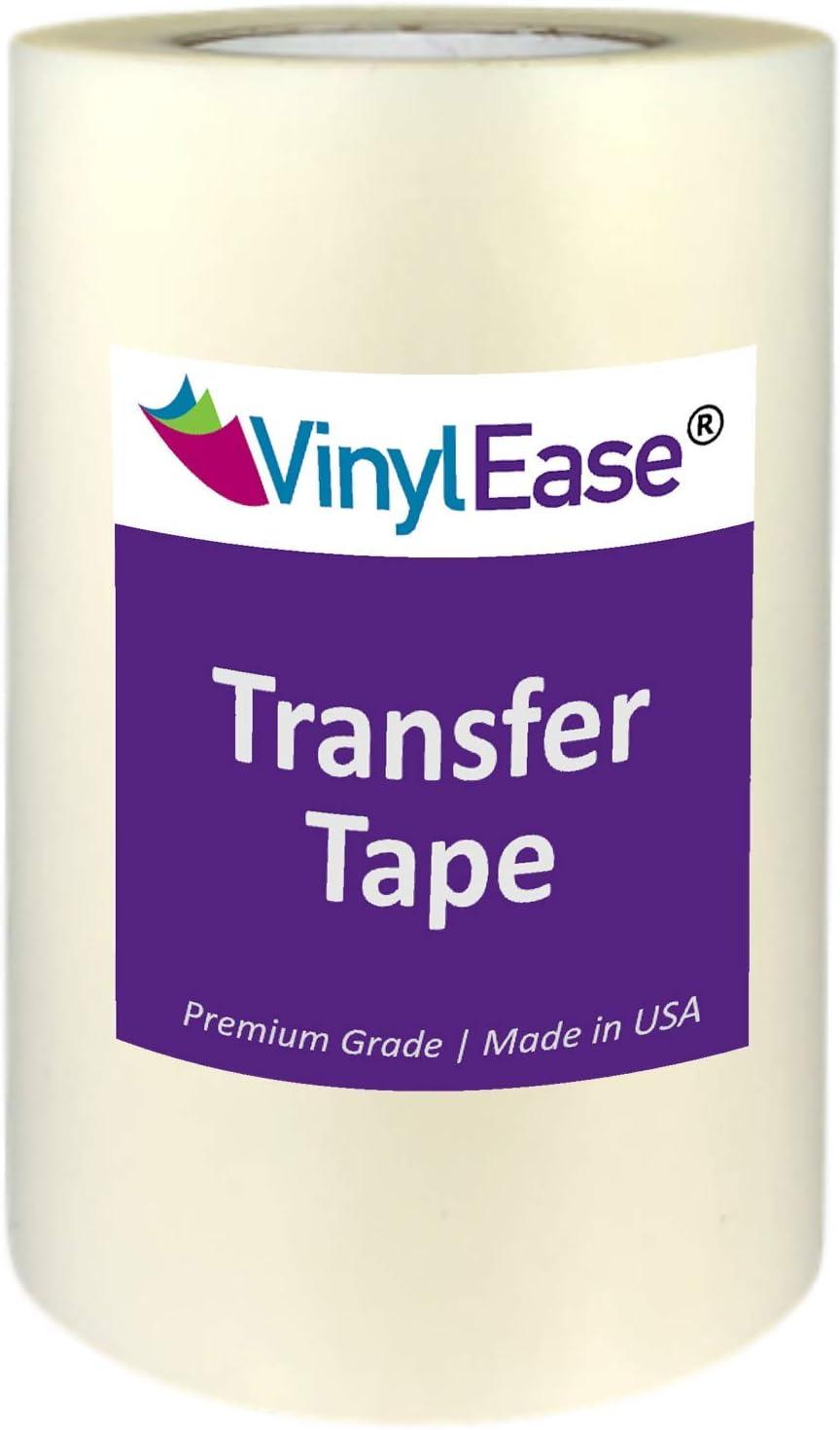 Craft Transfer 12 x 50 Feet Tape Roll Clear Lay Flat Application Vinyl Signs