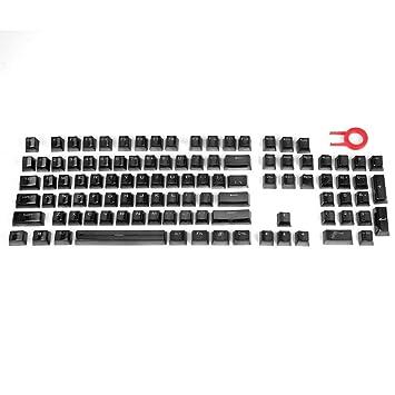 SeniorMar 104 Teclas PBT Double Shot Keycaps Inyección Teclas de Color retroiluminadas para Todos los teclados mecánicos con Keycap Pulller: Amazon.es: ...