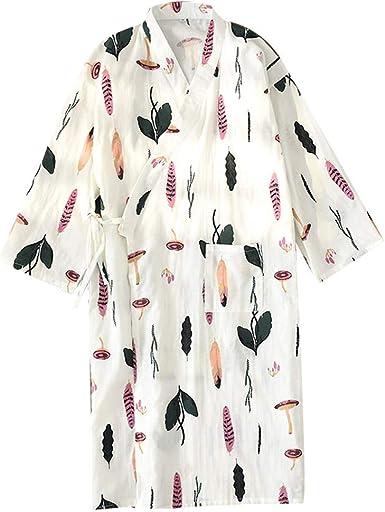 Bata Japonesa para Mujer Kimono Pijamas Seta: Amazon.es: Ropa