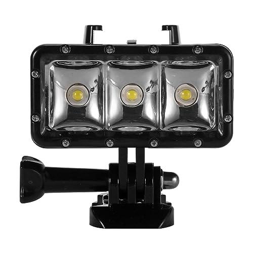 XCSOURCE LED Projecteur 30M Étanche Plongée Sous-marine Vidéo Lampe pour Gopro 4, Gopro 3+, Gopro 3, SJ4000, SJ5000 et Xiaoyi OS463