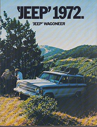 1972 AMC Jeep Wagoneer sales brochure 1414 258cid 304cid ()