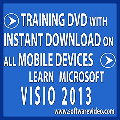 Software Video Learn Microsoft Visio 2013 Training DVD Sale 60% Off training video tutorials DVD Over 5 Hours of Video Training