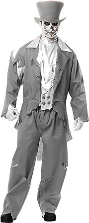 Ghost Groom Adult Mens Costume