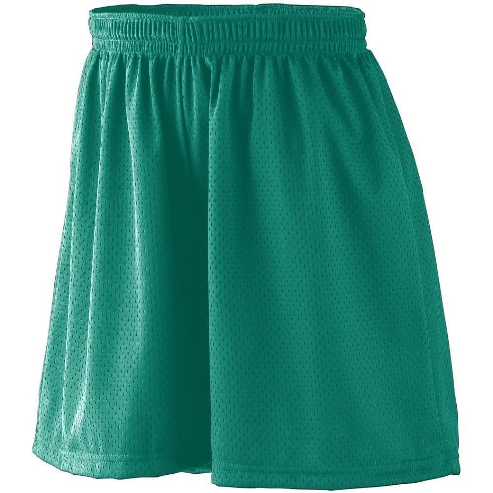 Augusta Girls Sportswear Covered Elastic Waistband Mesh Short Augusta Sportswear Augusta Sportswear 859A