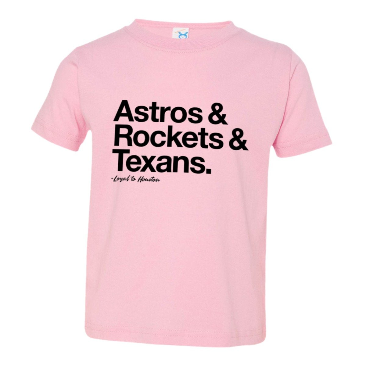 new concept 9d06b 05395 Toddler Loyal Astros Rockets Texans Texas Sports Ball Soft HQ Tee