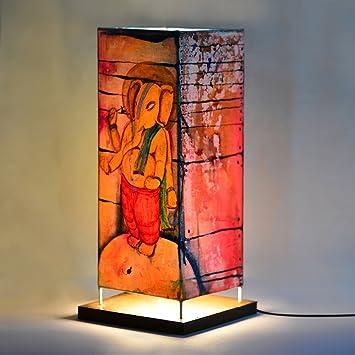 Buy ExclusiveLane 15 Inch Canvas Handpainted Standing Bal Ganesha