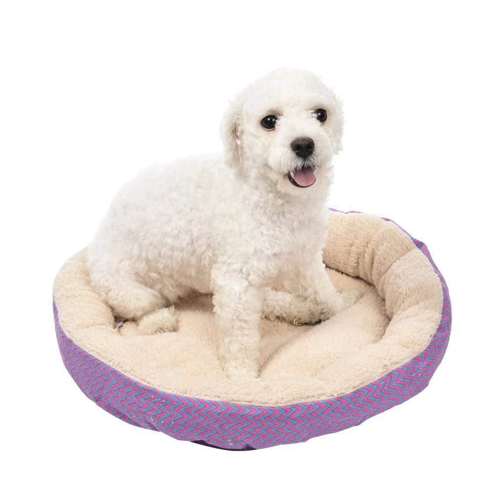 Mignon84Cook Pet Nido Rotondo, Letto per Animali Domestici Caldo e AntiGraffio, Cushion Cushion, Adatto per Cani e Gatti