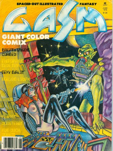 GASM [SPACED-OUT ILLUSTRATED FANTASY] JUNE 1978