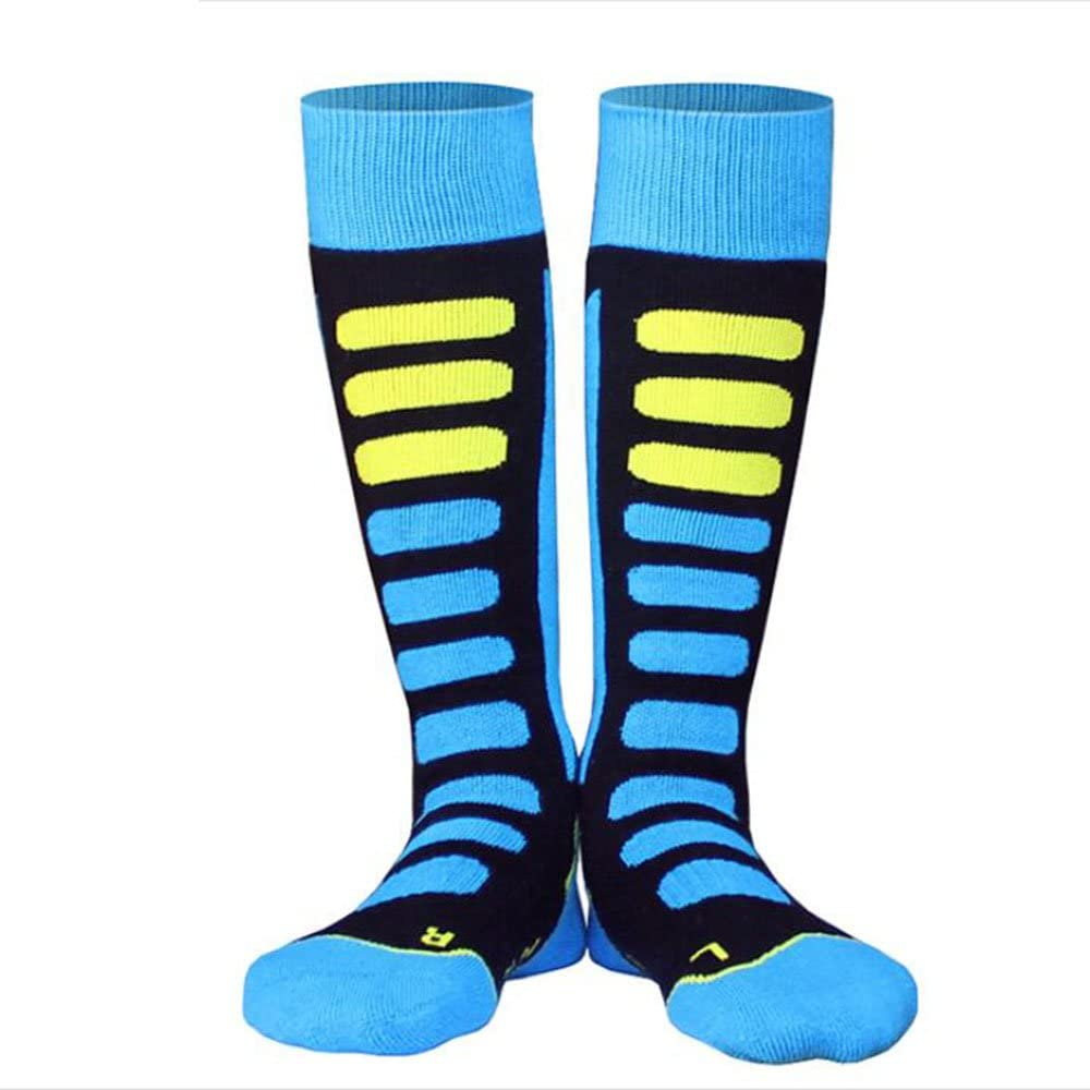 NOBRAND Ski Socks High Performance Kids Ski Socks Long Hose Thermal Socks for Ski Also Good For Hiking Travelling Helper Walking Sport Socks