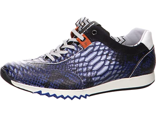 69936cebdc Floris van Bommel Men s Trainers Blue Dark Blue 10 UK  Amazon.co.uk ...