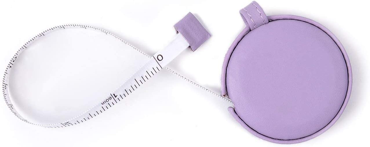 """New 2pc Measuring Retract Tape Ruler 60/"""" Tailor Measure Sewing Cloth Dual-Side"""