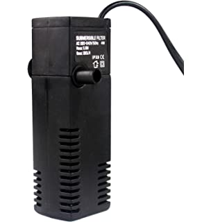 1MI Store Filtro Sumergible Acuario, Filtro Profesional Pecera, Bajo Consumo Alta Eficiencia. (