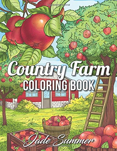Country Farm Coloring Book Relaxation product image