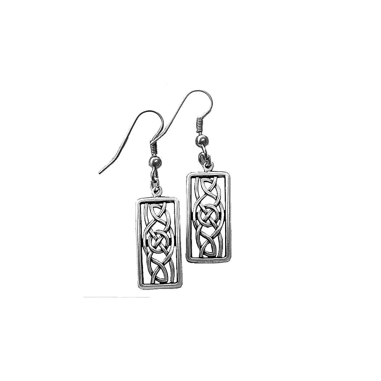 925 Sterling Silver Celtic Knot Earring Celtic Jewelry Friends Earrings